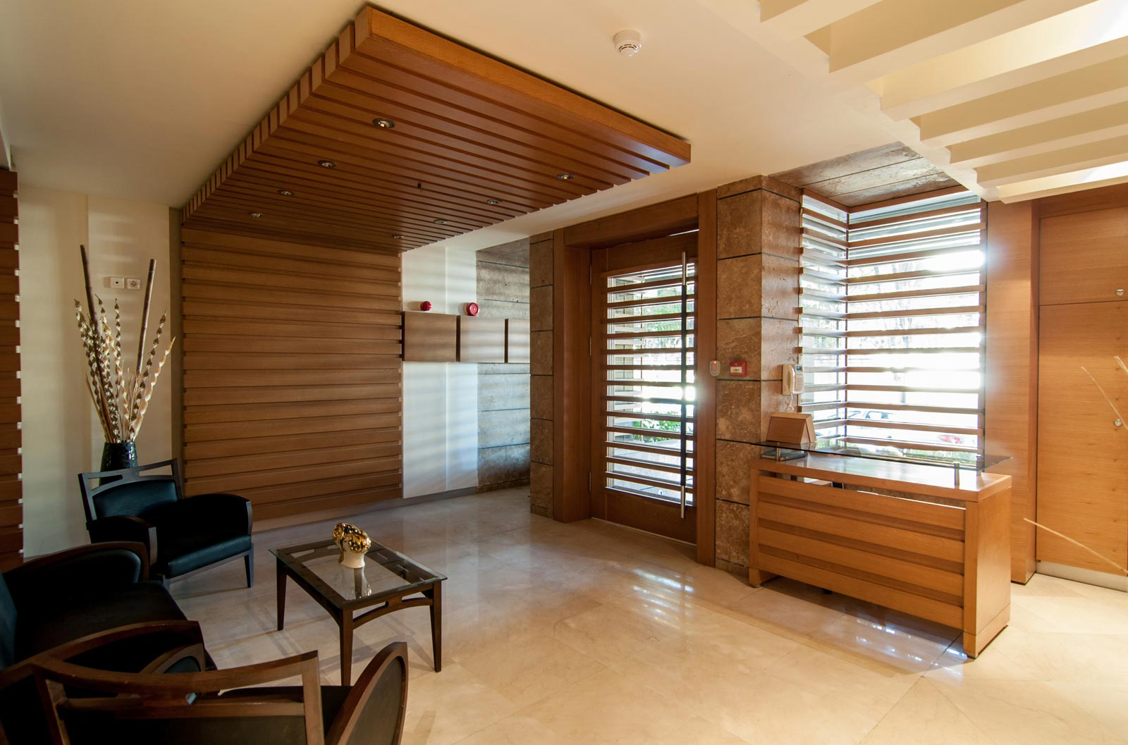 طراحی داخلی مجتمع مسکونی عطاالملک